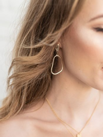 Textured Hoop Earrings KAJO Jewels