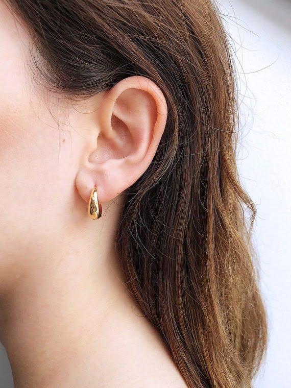 KAJO Jewels The Drop of Gold Earrings 1