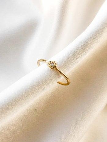 KAJO Jewels Little Star Ring Pierścionek 7