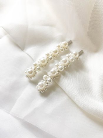 VIRGO 2 KAJO Jewels Hair Accessories Pearl Clips 2019-18
