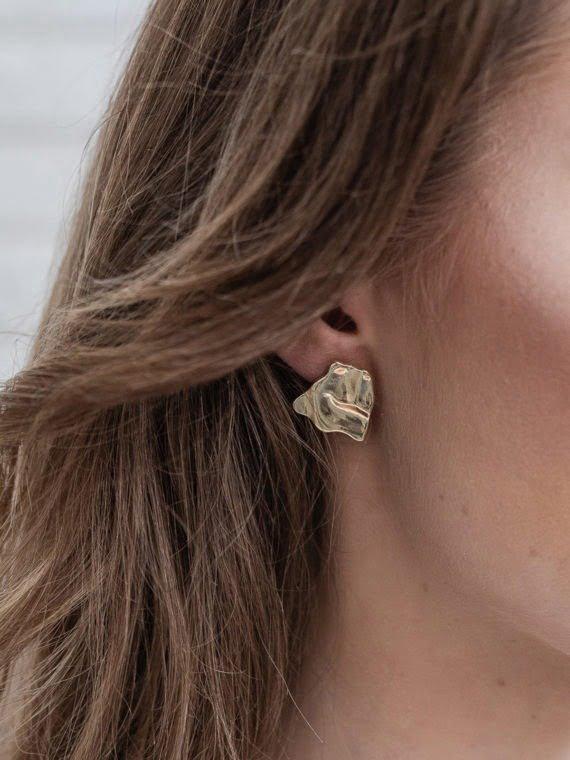 KAJO Jewels Golden Wind Earrings