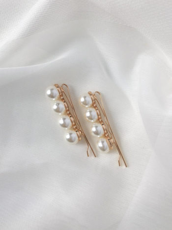 RUBY KAJO Jewels Hair Accessories Pearl Clips 2019-41