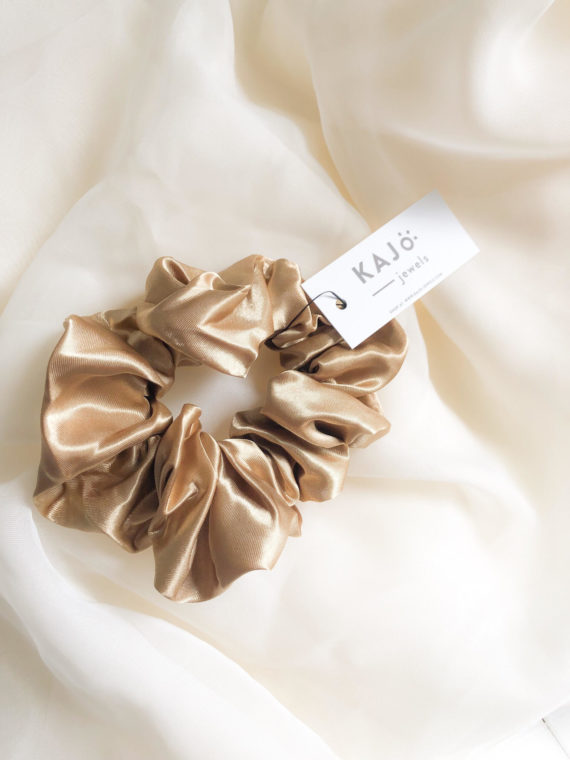 Gold Scrunchie KAJO2