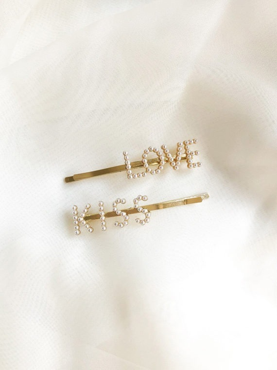 LOVE KISS Bobby Pin Set KAJO 1