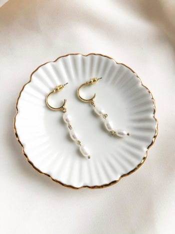 Kolczyki z perłami KAJO 1