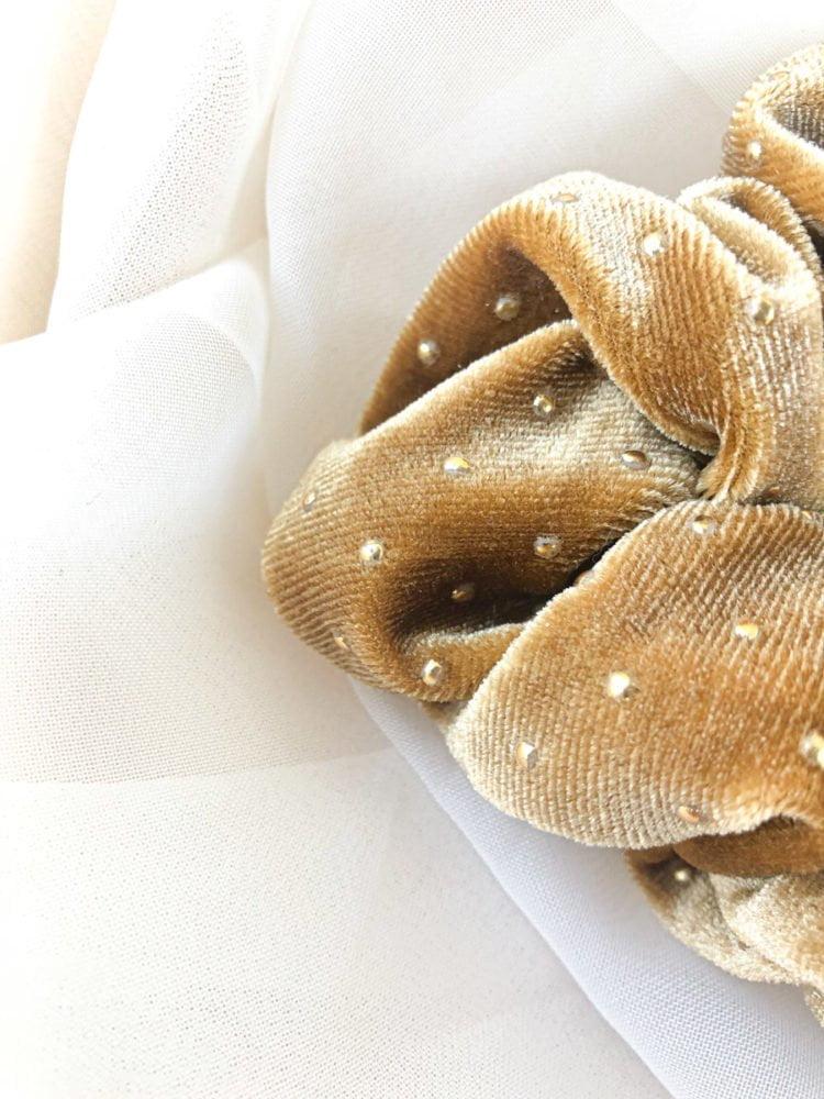 Gumka ze złotymi KAJO Jewels