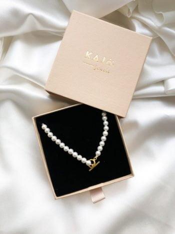 Coco Pearl Necklace Naszyjnik Perłowy Coco KAJO Jewels