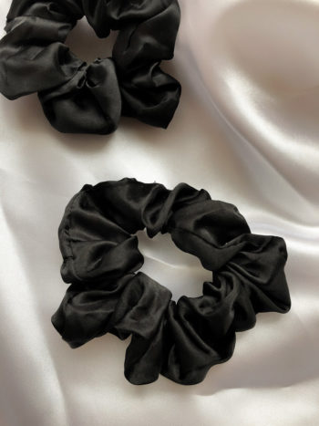 KAJO JEWELS Black Scrunchie Czarna Gumka 1