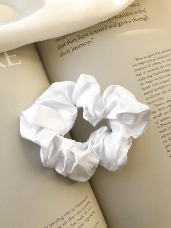 KAJO Jewels Scrunchie White Biała