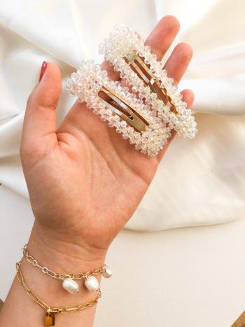 KAJO Jewels Kryształowa Spinka Crystal Hairclip 7