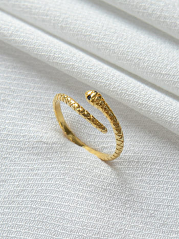 KAJO Snake Pierscionek Ring